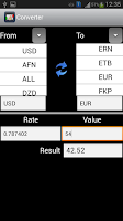 Screenshot of Money Manager