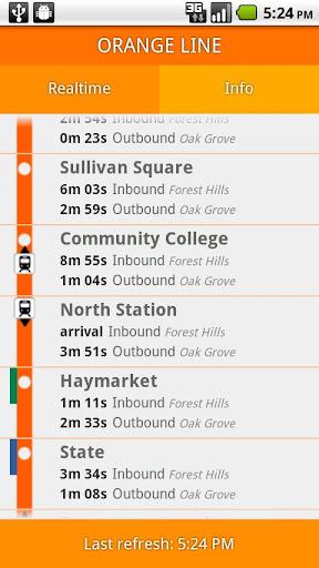 Orange Line Boston Subway MBTA