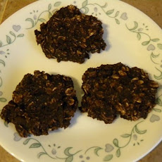 Very Low Cal Banana Oat Cookies