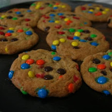 Mini M&M's (Or Chocolate Chip) Cookies