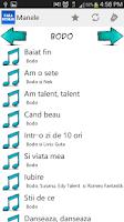 Screenshot of Manele Portalul tau de muzica