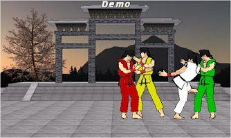 Screenshot of Final Karate Demo