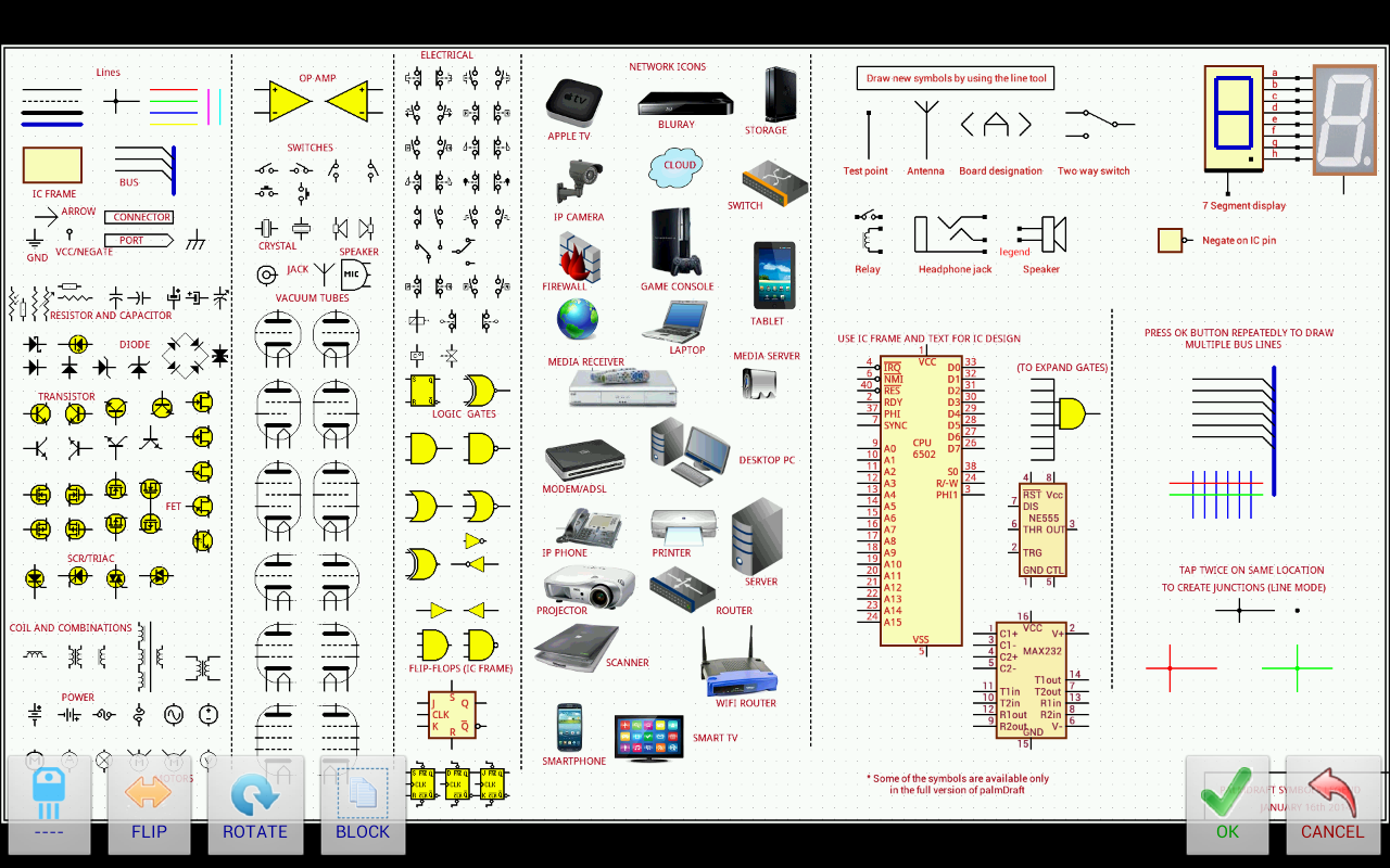 Download Palmdraft Electronics Cad V126 Apk Hack Android Games Electronic Circuit Diagram Drawing Software Free Screenshot