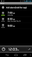 Screenshot of Alarm Clock Plus★