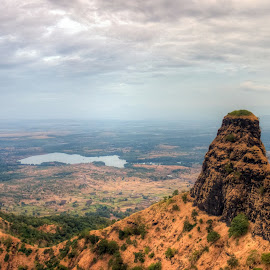 The Machhindragad by Saurabh Tamhankar - Landscapes Mountains & Hills ( hills, mountains, nature, fort, landscape )