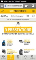 Screenshot of Renault Entretien