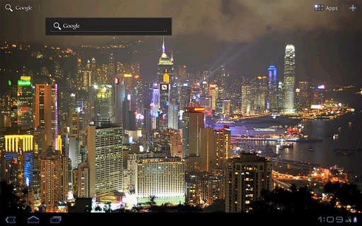 【免費個人化App】City Night Live Wallpaper-APP點子