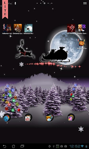 christmas-live-wallpaper-free for android screenshot