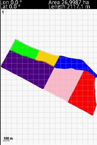 GPS Area Calculation