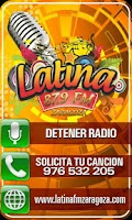 Screenshot of Latina FM