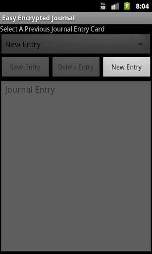 Easy Encrypted Journal