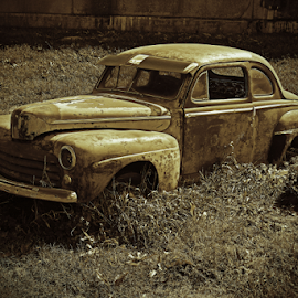 Old rusty cars by Jeffrey T Johnson - Transportation Automobiles ( old, old car, cars, rusty, rustic )