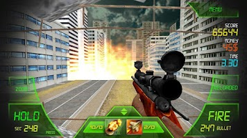 Screenshot of Sniper - The Walking Zombie
