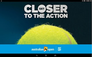Screenshot of Australian Open Tennis 2015