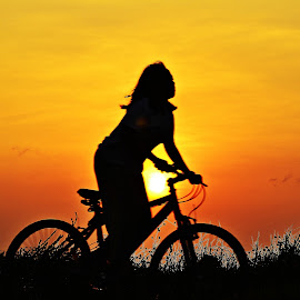 on my bike by Yudi Dhaniwanto - Babies & Children Children Candids ( bicycle )