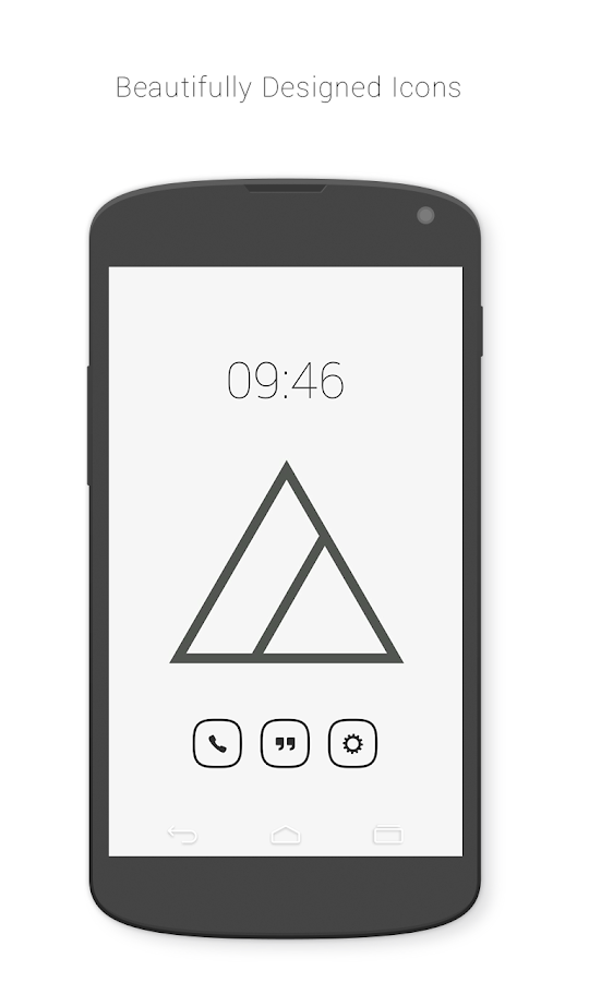 Inverse Icon Pack Screenshot 0
