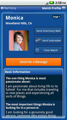 eharmony-love-begins-here for android screenshot
