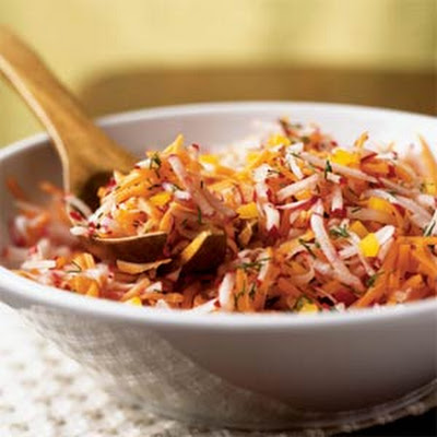Radish Slaw with New York Deli Dressing