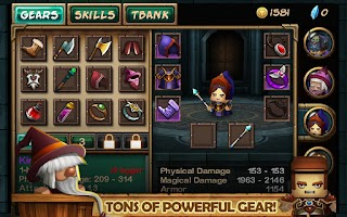Screenshot of Tiny Legends: Heroes