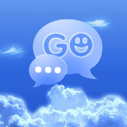 SMSテーマ雲空にGO 個人化 App LOGO-APP試玩