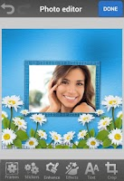 Screenshot of Flower Photo Frames & Effects