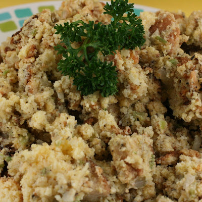 CrockPot Corn Bread Stuffing
