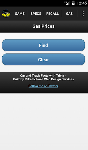 Car & Truck Facts with Trivia - screenshot