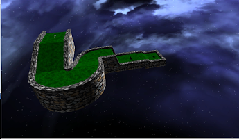 Screenshot of Mini Golf Space 3D Free