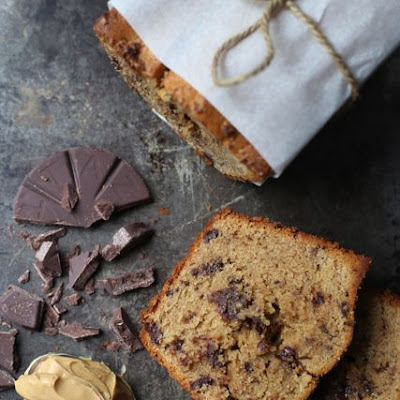 Peanut Butter Chocolate Chip Pound Cake