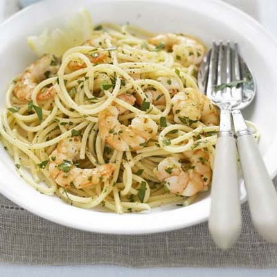 Lemon & Parsley Spaghetti
