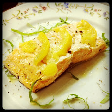 Grilled Salmon with Preserved Meyer Lemons