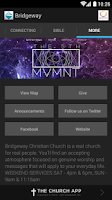 Screenshot of Bridgeway Christian Church