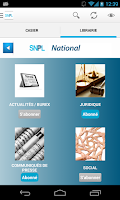 Screenshot of SNPL