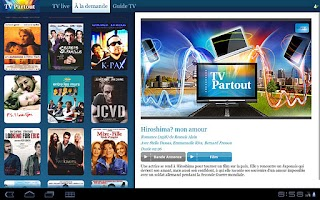Screenshot of TV Partout Tab - OBSOLETE