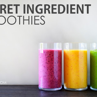 Secret Ingredient Smoothies