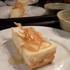 Easy No-Bake Low-Fat Citrus Cheesecake