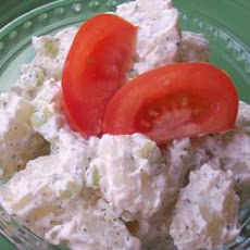 Dill Sour Cream Potato Salad