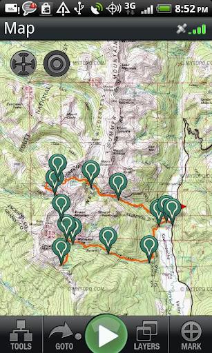 Backpacker GPS Trails Pro