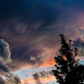 by Nic Harker - Landscapes Cloud Formations