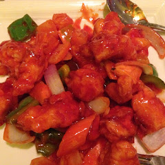 Sweet and sour chicken... Life is good!!