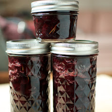 Cherry Preserves with Honey and Rosemary