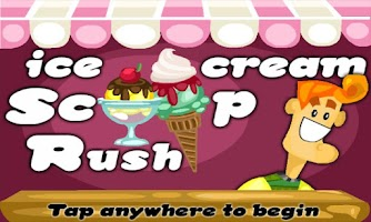 Screenshot of Ice Cream Scoop Rush