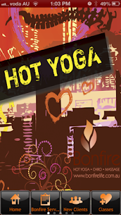 Bonfire Hot Yoga - screenshot