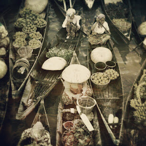 floating market by Sigit Irmawan - Instagram & Mobile Android