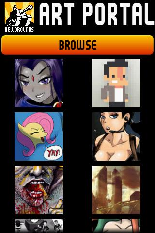 Newgrounds Art Portal