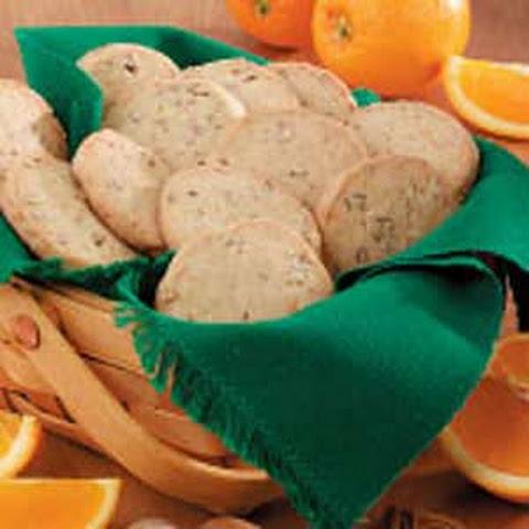 Orange-Pecan Icebox Cookies