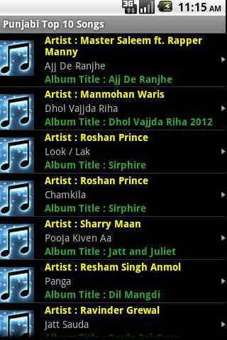 Punjabi latest top video songs