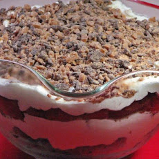 Toffee Brownie Trifle