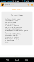 Screenshot of PrayerMate