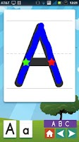Screenshot of Phonics Trace & Learn